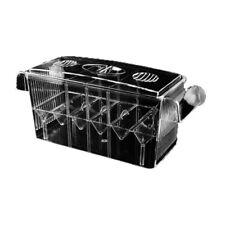 Self-Floating Fish Hatchery Box Clear Aquarium Breeding Incubator Isolation Box