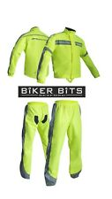 RST PRO SERIES Waterproof Motorcycle Rain Over Jacket & Trousers FLO YELLOW