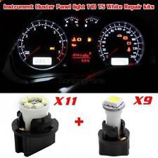 White LED T5 T10 Instrument Cluster Panel Light Kits For Dodge Neon Ram 1500