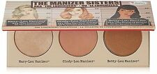TheBalm The Manizer Sisters Luminizer Collection Palette 3g Each *New Genuine*