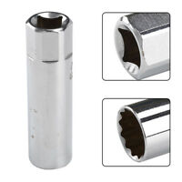 """Durable 14 mm Spark Plug Socket 3/8""""Drive Thin 12Point Removal Tool For BMW Mini"""
