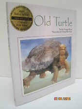 Old Turtle by Douglas Wood, Watercolors by Cheng-Khee Chee