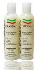 La Brasiliana Original keratin treatment 4.23 oz (Pack of 2)