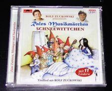 CUENTO DE HADAS MUSICAL DE ESTERTORES ROLF ZUCKOWSKI: BLANCO COMO LA NIEVE CD