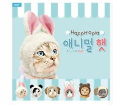 Set 2 Cat Dog Halloween Costume Rabbit Puppy Warm Rabbit Hat Funny Pet