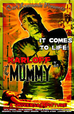 The Mummy Boris Karloff Classic Monsters 11 x 17 High Quality Movie Poster