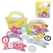 Easter Arts & Craft, Decorations, Egg Hunt - 16 Piece Egg Hunt Kit