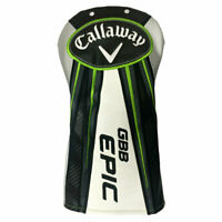 New Callaway Golf Great Big Bertha Epic Driver Head Cover - Black/White/Green