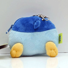Pokemon Piplup Plush Card Holder Stuffed Toy Coin Pouch Case Retractable Cord