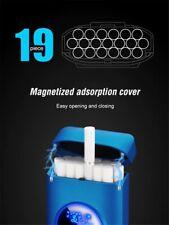 Metal Rechargeable Cigarette Case USB Electronic Lighter Tobacco Cigarette Stora