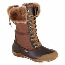 New Pajar  Women's Garland Cognac Waterproof Winter Boot sz  EU 38 US 7-7.5