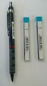 Rotring Tikky Pencil ( Blue Barrel) 0.7mm WITH FREE 24 x  HB  LEADS-FREE POSTAGE