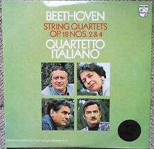Beethoven String Quartets 2&4 Quartetto Italiano Philips 5600 646 LP Very Clean