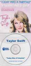 Taylor Swift - Today Was A Fairytale - Rare Radio Promotional CD Single - 1205