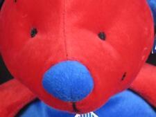 NEW TEXAS RANGERS BASEBALL MLB PLUSH TEDDY BEAR BLUE RED BASEBALL CAP FAN TOY