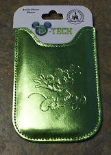 New Disney Parks MICKEY MOUSE Smartphone Cell Phone Case Sleeve Green
