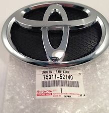 D'origine Toyota front badge emblème YARIS 2005-2011 logo 75311-52140 d'origine NEUF