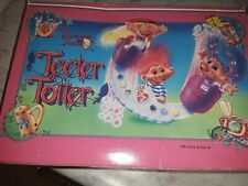 Vintage 1992 Treasure Trolls Teeter Totter, New In Box