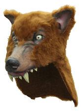 Brown Wolf Halloween Helmet