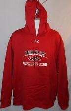 Under Armour Men's Hoodie Coldgear Barrington Youth Football Red Size XL NEW NWT