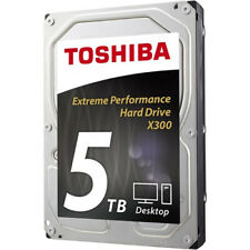 "HDWE150UZSVA Toshiba X300 Performance - Hard drive - 5 TB - internal - 3.5"" - SA"