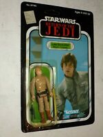 1983 Star Wars Return of the Jedi LUKE SKYWALKER Bespin Fatigues 77 back MOC