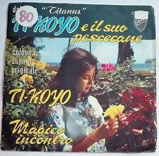 """40788 45 giri - 7"""" - Francesco De Masi Colonna sonora T-Koyo e il suo pescecane"""