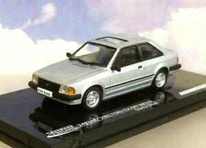 NICE VITESSE 1/43 DIECAST 1981 FORD ESCORT MKIII MK3 GL STRATO SILVER RHD 24834R