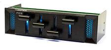 Lamptron 7 LED Color FC9 5.25 Bay Fan Controller w/ 4 x 50W (Ch)
