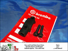 BREMBO   MASTER CYLINDER CLAMP & MIRROR MOUNT (M10 x 1.25 mm R/H)  - BLACK