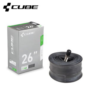"CUBE Mountain Bike MTB Inner Tube 26"" / 27.5"" / 29"" with 40mm Schrader Valve"