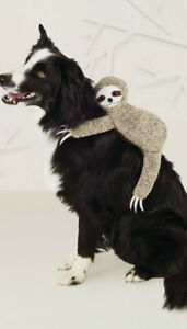 Hyde and Eek Boutique Sloth 'Riding on' Dog Vest Costume XL preowned