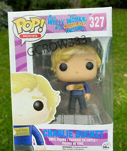 Willy Wonka and the Chocolate Factory Charlie Bucket #327 Pop Vinyl
