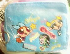Powerpuff girls coin  wallet purse blue Brand NEW With Tags