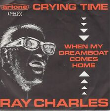 7inch RAY CHARLEScrying time HOLLAND 1965 EX  (S2439)
