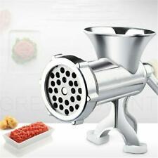 Manual Multi Meat Grinder Mincer Sausage Filler Chopper Pasta Maker Table Home