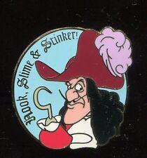 Wdw Cast Lanyard Hook, Slime & Stinker Disney Pin 12801