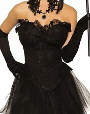 Evil Queen Womens Adult Witch Vampire Costume Black Skirt