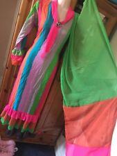 """Beautiful Multi Colour Printed  Kameez Dubara Indian Suit - Chest Size 20"""""""