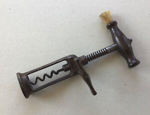Antique Lund's Patent London Rack Corkscrew of Cornhill and Fleet St. London