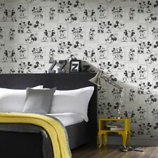 EUR 3,56/qm / Tapete Disney Mickey Mouse 102712 Beige / Cream Mickey & Minnie