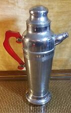 Vintage Krome-Kraf Chrome Drink Mixer w/ Bake Lite Handle Mid Century