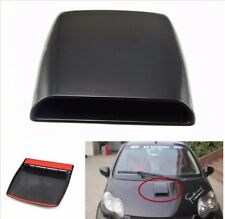 Universal Car SUV Decorative Air Flow Front Hood Scoop Vent Bonnet Cover Black