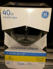 ge globe light bulb clear PC12980