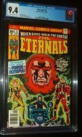 ETERNALS #5 1976 Marvel Comics CGC 9.4 NM New Movie Coming Soon