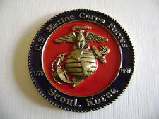 U.S. MARINE CORPS FORCES KOREA 222ND ANNIVERSARY NOVEMBER 15 1997 CHALLENGE COIN