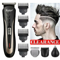 CLEARANCE Pro Hair Clippers Beard Trimmer Electric Cordless Shaver Razor Haircut