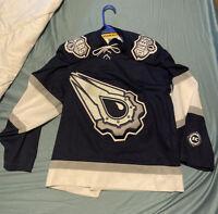 Vtg NHL Edmonton Oilers Koho Authentic Alternate AirKnit Masaka Hockey Jersey S