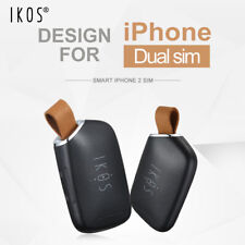 IKOS K1S Dual Sim Dual Standby Adapter for iPhone i Pad iPod Touch - Black