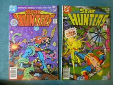 Star Hunters #1 FN and #4 VF (1977/78) by DC comics